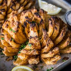 Blooming Onion Traeger's Grilled Blooming Onion recipe lets you make this awesome appetizer with ease. Traeger Pellet Grills, LLCTraeger's Grilled Blooming Onion recipe lets you make this awesome appetizer with ease. Traeger Recipes, Grilling Recipes, Cooking Recipes, Healthy Recipes, Slow Cooking, Cooking Steak, Grilling Tips, Cooking On The Grill, Rib Recipes