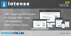 CodeCanyon - Intense-Shortcodes and Site Builder for WordPress Free Download