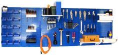 Special Offers - Wall Control 30-WRK-800BUW Master Workbench Metal Pegboard Tool Organizer - In stock & Free Shipping. You can save more money! Check It (May 22 2016 at 09:54PM) >> http://garagecabinetusa.net/wall-control-30-wrk-800buw-master-workbench-metal-pegboard-tool-organizer/