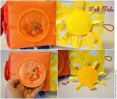 """Развивающие игрушки ручной работы. Ярмарка Мастеров - ручная работа Развивающий кубик """"Радуга"""". Handmade."""