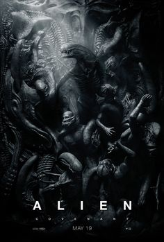 Mike Philbin's free planet blog: Ridley Scott - Covenant poster - Aliens vs Enginee...