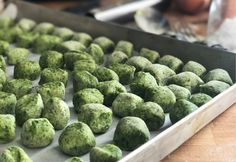Gnocchi verdi agli spinaci senza glutine