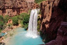 Havasu Falls, Arizona - America's Best Swimming Holes Slideshow at Frommer's