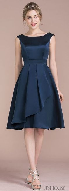New Ideas For Fashion Dresses Formal Shape Dresses For Teens, Trendy Dresses, Elegant Dresses, Casual Dresses, Short Dresses, Formal Dresses, Modest Wedding Gowns, Satin Bridesmaid Dresses, Princess Wedding Dresses
