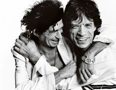 Keith Richards and Mick Jagger, Los Angeles , 2003 por Mario Testino