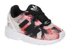 Adidas ZX FLUX EL I roze lage kinder sneakers