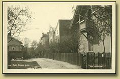 postkort fra Daaes gate.