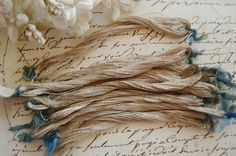 1 Skein Early 1900's Antique French Skein by VintageCottageFinds