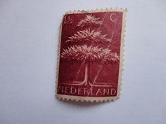 1 1/2c Nederland Tree Postage Stamp