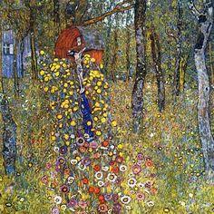 klimt garden-with-crucifix-1912