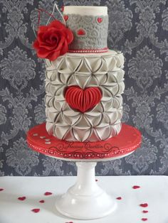 Would you be my valentine? - Cake by Peggy ( Precious Taarten)