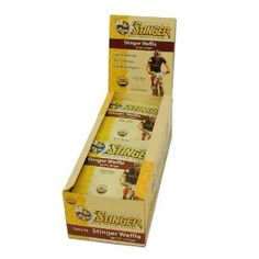 Honey Stinger Stinger Waffle, Vanilla, 1-Ounce Packages (Pack of 16), (honey stinger, cycling, energy, bars, energy gel, honey stinger chews, honey, nutrition, nutrition bars, clif shot)