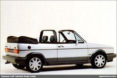 Prototypes and design proposals for cars. Golf 1 Cabriolet, Vw Cabrio, Vw Mk1, Volkswagen Golf, Fiat 500c, Vw Scirocco, Jaguar Xj, Future Car, Sexy Cars