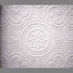 Anaglypta Premium Textured Vinyl Egon classical paintable wallpaper: RDD80029