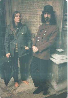Pam Zarubica (suzy cream cheese) with Frank Zappa