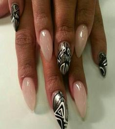 NAIL ART / NAIL DESIGNS / STILETTO NAILS / ACRYLIC NAILS