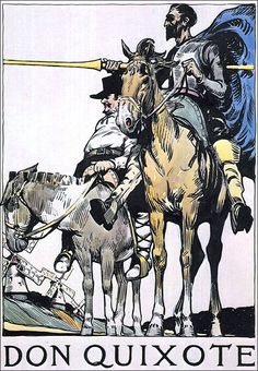 Edward Hopper  1899 - Don Quixote Many people do not know that Hopper worked as an illustrator