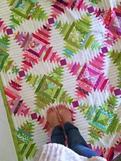 Pineapple Block Paper Piecing Tutorial - Quilting Digest