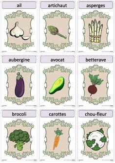 Une version du célèbre jeu Devine tête sur le thème des légumes.