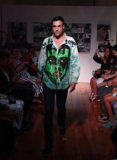 A model walks the runway at Patricia Field Art/Fashion Gallery runway show…