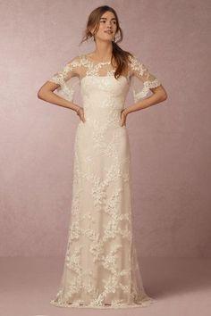 Estella Gown in Bride Wedding Dresses at BHLDN