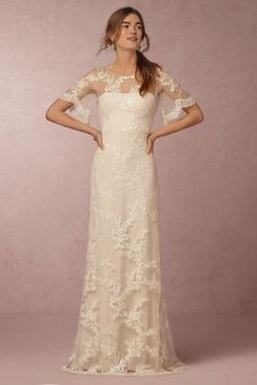 BHLDN Estella Gown in  Bride Wedding Dresses at BHLDN