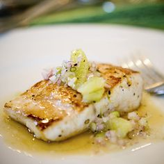 Grilled Mahi Mahi With Avocado-Chile Salsa + 17 Healthy Seafood Recipes | health.com