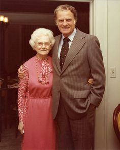 """On August 14, 1981, she quietly left this earth in her sleep and entered Heaven. When word came, I wept and yet rejoiced at the same time. Of all the people I have ever known, she had the greatest influence on me."" – Billy Graham, writing about his mother who passed away on this day, 34 years ago."