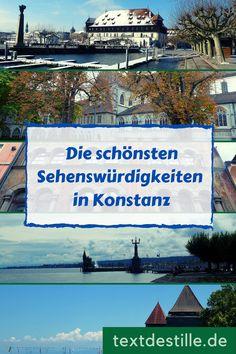 Wenn ihr am Bodensee seid, solltet ihr euch unbedingt auch Konstanz anschauen, denn in der größten Stadt am Bodensee gibt es jede Menge Geschichte und Kultur zu entdecken. Ich nehme euch mit auf einen Rundgang durch die Altstadt, zeige euch die schönsten Sehenswürdigkeiten in der Stadt und stelle euch Museen und andere Kultureinrichtungen vor. #textdestille Reisen In Europa, Winter, Konstanz, Old Town, Road Trip Destinations, Winter Time, Winter Fashion