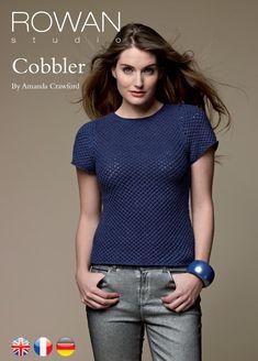 Вязание кофточки Cobbler