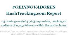 Twitter lleva el tercer encuentro de OEinnovadores a más de 11.400 usuarios