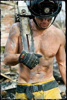 Firemen, heros in uniform, Hot, Firetruck, Sexy Men