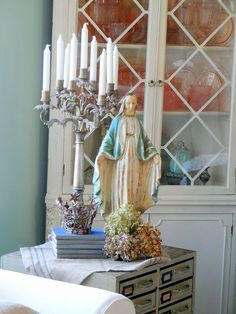Trend Alert--Religious Items Used as Home Decor is Huge Right Now!