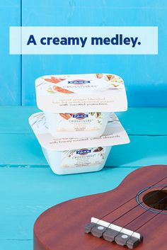 Your practice session deserves a reward. Why not try the rich taste of FAGE CROSSOVERS?