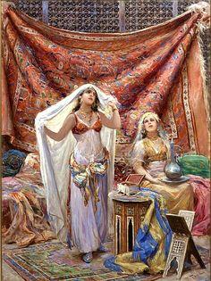 pintura arabe - Buscar con Google