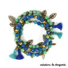 Un trio de bracelets colorés pour préparer l'élé ! #ladroguerie #bracelet