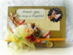 Thank you for being so Thoughtful Handmade by BennBooCreations