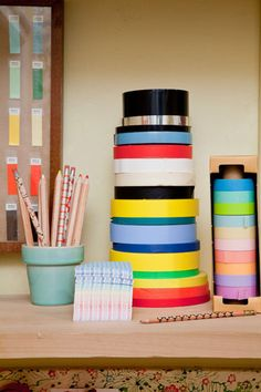 I want thick rolls of washi tape!!! Eeeeee!!