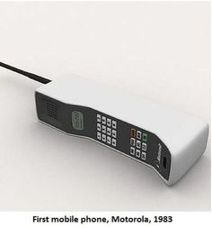 The Zack Morris Phone, otherwise known as the Motorola Dynatac Old Cell Phones, Mobile Phones, Smart School, Latest Smartphones, Retro Phone, Call Me Maybe, Vintage Telephone, Walkie Talkie, Childhood Memories