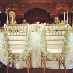 Sweetheart Table | Real Weddings (a la iphone)