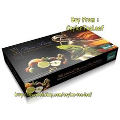 Dilmah Gift of Tea 80 Individually foil wrapped tea bags in a Gift box