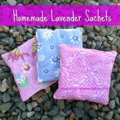 Re-purposed Homemade Lavender Sachet Tutorial