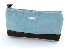 sativa hemp cosmetic case/ pencil case