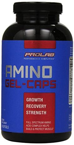 ProLab Amino GelCaps 200Count * Check out the image by visiting the link.