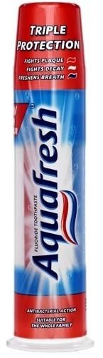 Aquafresh Toothpaste    Triple Protection    100ml pump    rrp £1.89 | Shop this product here: http://spreesy.com/DiscountFoodsofLincoln/322 | Shop all of our products at http://spreesy.com/DiscountFoodsofLincoln    | Pinterest selling powered by Spreesy.com
