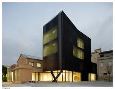Ferreries Cultural Centre by [ARQUITECTURIA]