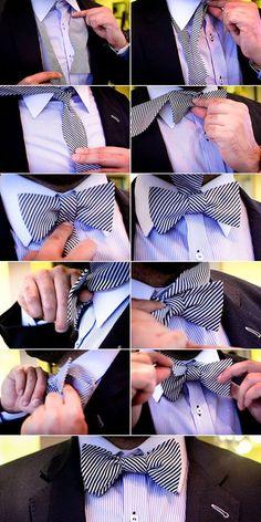 The Easiest Way How To Tie A Bow Tie – Mule Ties