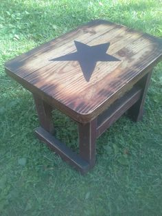 $34.99 end table by Nicholas ( 11 years old). Available at Cherish Every Moment Market Place on facebook.