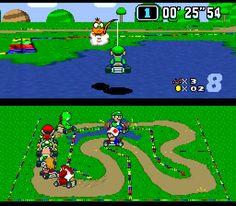 Snes - Mario Kart