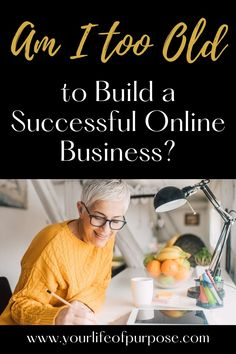 Am I too old to build a Successful Online Business? – Cat Coluccio Midlife Career Change, Business Cat, Successful Online Businesses, Make Blog, Building, Posts, Messages, Buildings, Construction